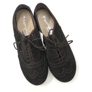 0a7fa3c00 Pisamonas. Sapatos castanhos